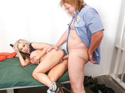 Inmate Katie Morgan uses her pussy to get what she wants.