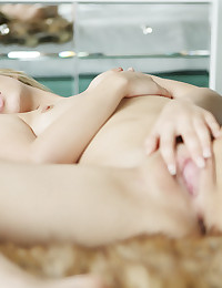"There is something so breathtakingly beautiful about Jillian Janson. Looking straight at you wearing a bra and white panties, she looks so innocent and yet so alluring. As she gets naked, Jillian exudes a self-confidence and a youthful sexuality that cannot conceal her hotter sensual side. Her eyes sparkle and her smile becomes even more inviting as she gives you a peak look at her gorgeous pussy. What a cock teaser! And when this blonde babe discovers a magical silver gift that I have left for her, you know that Jillian's thoughts are turning to orgasmic pleasure. Can you tell that she loves you to watch as the ""Colette Special"" separates her full lips and goes deep into her pussy? And that Jillian is hoping you get off with her as she fucks herself? This girl (and this dildo) never fail. Trust me!"